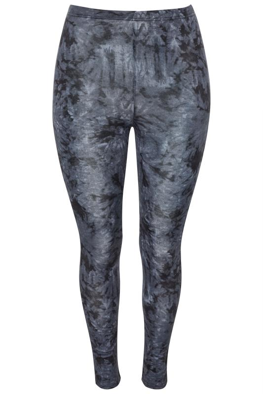 Indigo Blue Tie Dye Leggings
