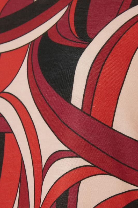 LIMITED COLLECTION Red Abstract Print Midaxi Dress_S.jpg