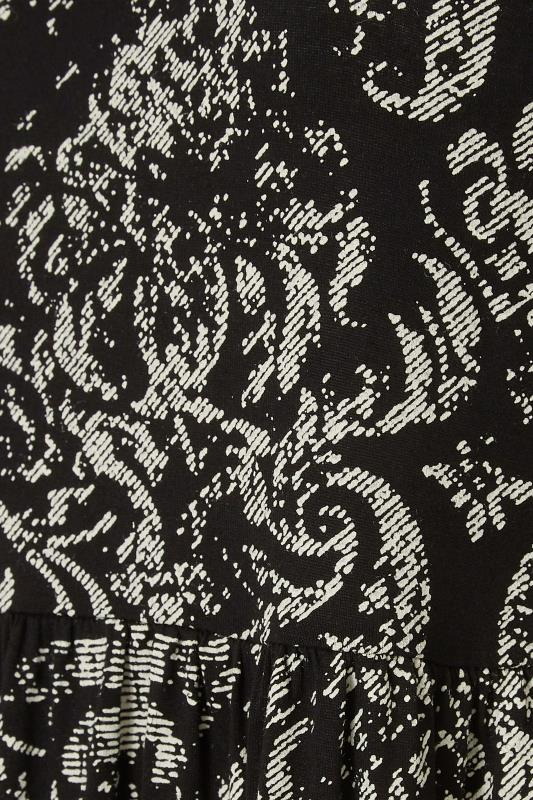 LIMITED COLLECTION Black Paisley Print Midaxi Dress_S.jpg