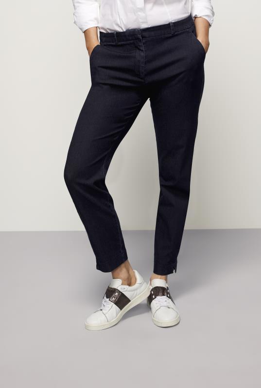 Tall Trousers 7/8 Smart Denim Trousers