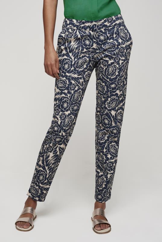 Tall Trousers Floral Ankle Grazer Trouser