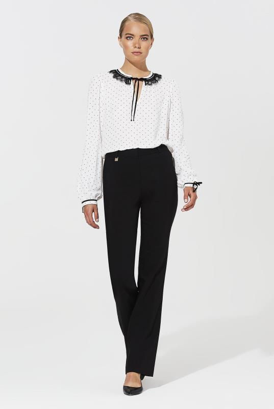 Tall Bootcut Trousers KARL LAGERFELD PARIS Black Bootcut Compression Trousers