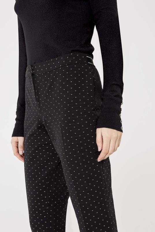 Multi Coloured Pin Dot Trouser