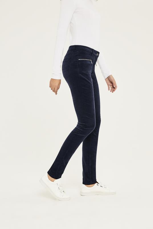 Needlecord Biker Skinny Trouser