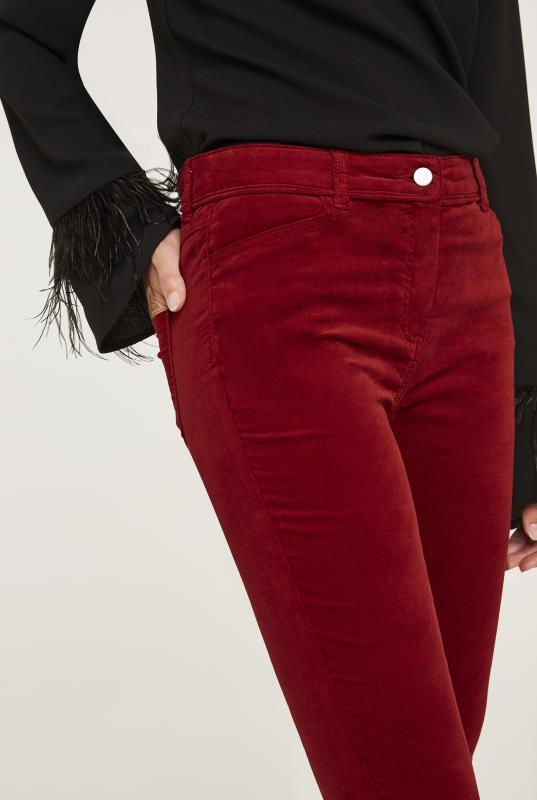 Velveteen Skinny Trouser