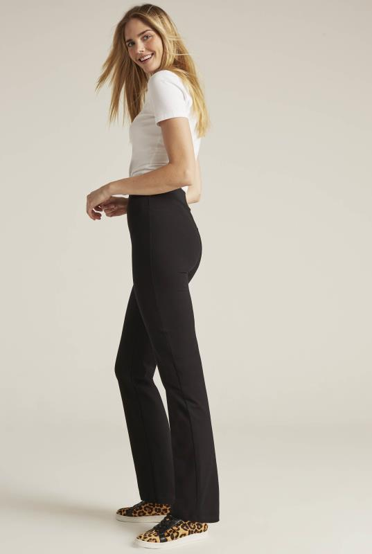 Tall Trousers Black Bodyshaper Bootcut Trouser
