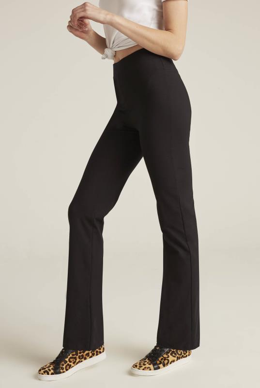 Black Bodyshaper Bootcut Trouser