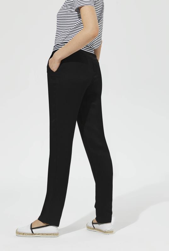 Karl Lagerfeld Paris Stripe Waistband Pant