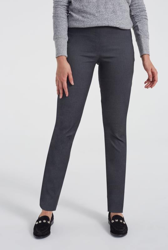 Grey Allegro Straight Leg Trouser