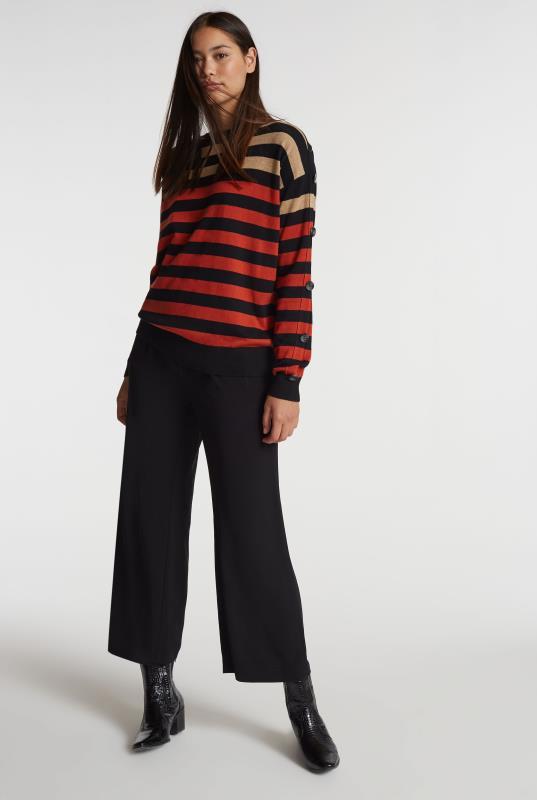 Tall Culottes Black Crepe Culotte