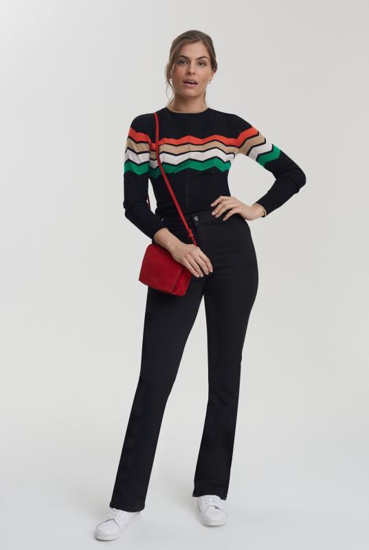 Black Premium Bootcut Trouser Jean