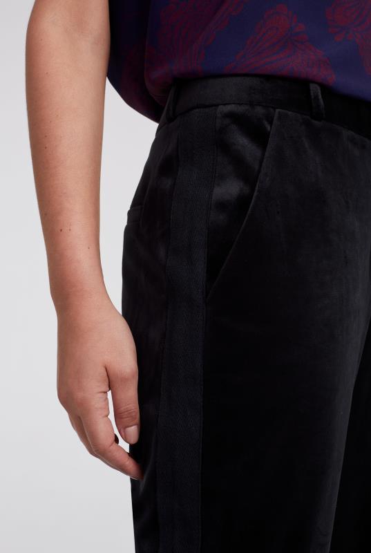Velvet Bootcut Trouser