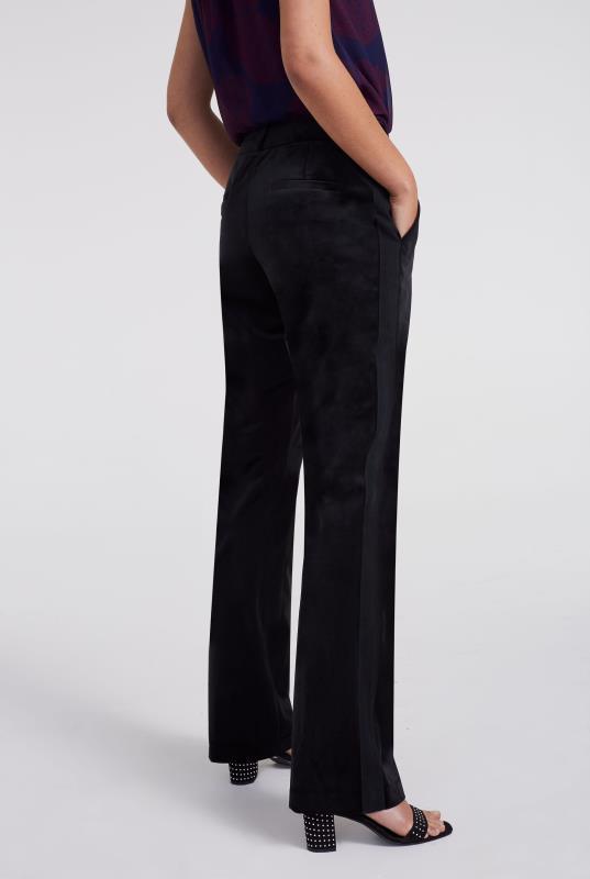 Black Velvet Bootcut Trouser