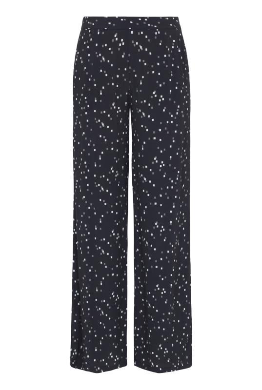 Printed Wide Leg Trouser