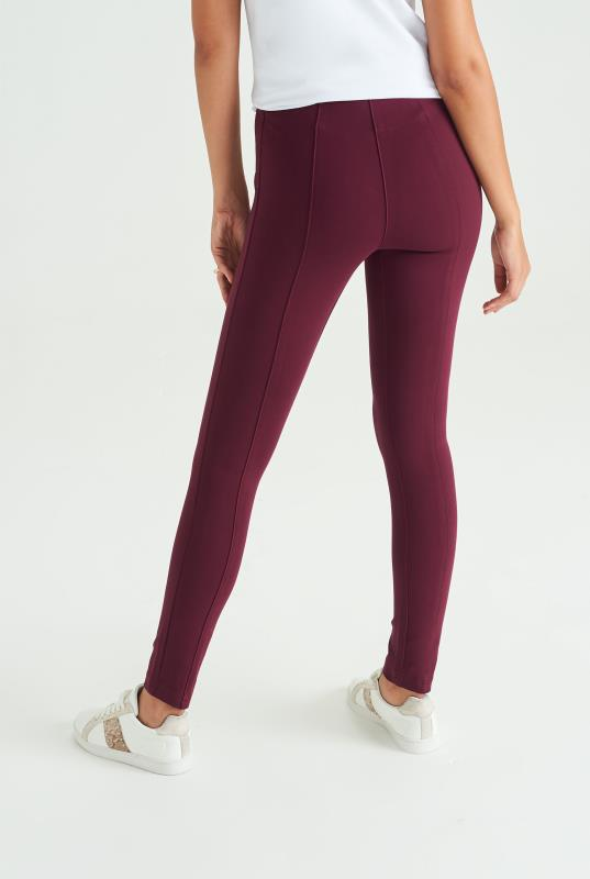 Heavy Elastic Panel Band Legging
