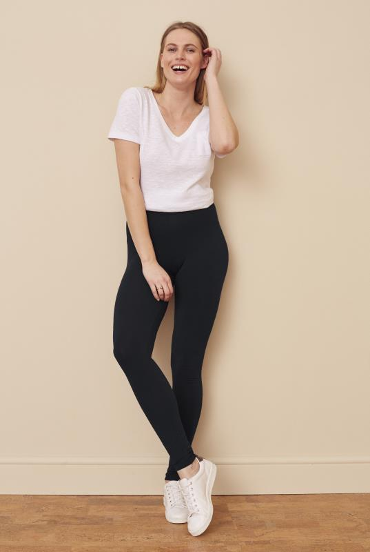 Tall Leggings Black Classic Jersey Legging