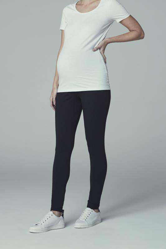 Tall Leggings Black Maternity Leggings