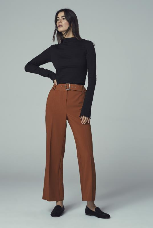 Tall Culottes Belted Formal Culotte