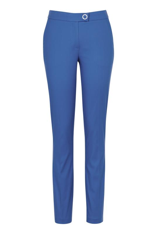 Smart Cotton Sateen Slim Leg Trouser