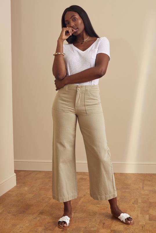 Cotton Twill Culotte
