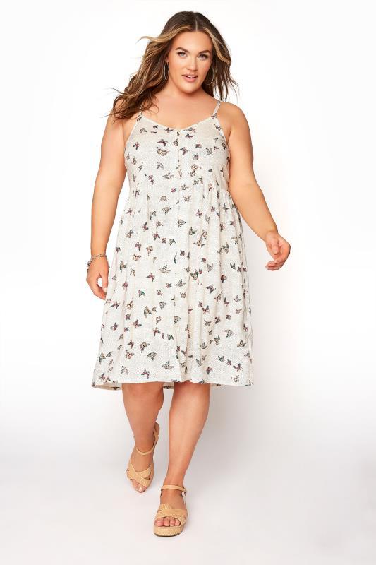 White Butterfly Spot Button Front Cami Dress_A.jpg