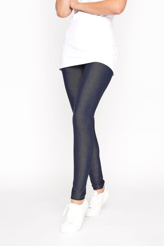 LTS Indigo Blue Jersey Jeggings