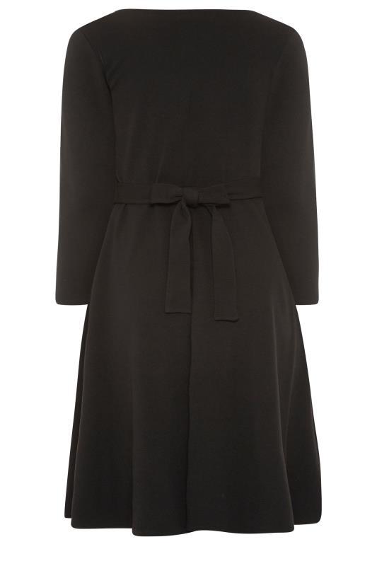 YOURS LONDON Black Wrap Midi Dress_BK.jpg
