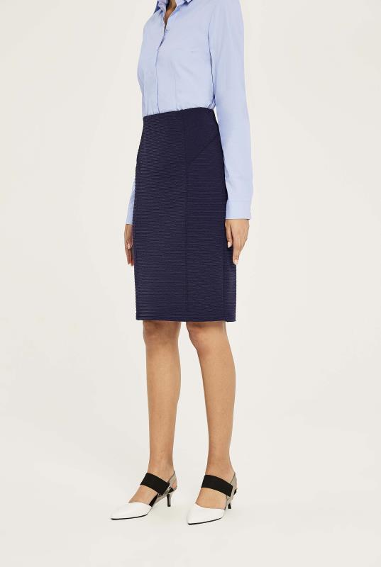 Tall Skirts Textured Pencil Skirt