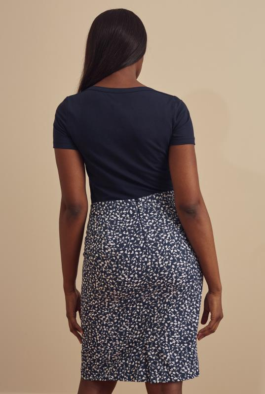 Cotton Printed Pencil Skirt