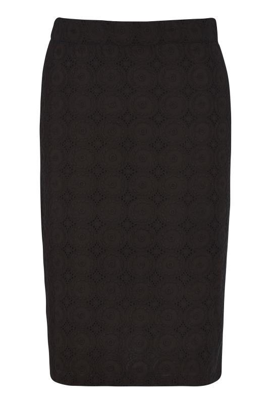 Broderie Pencil Skirt