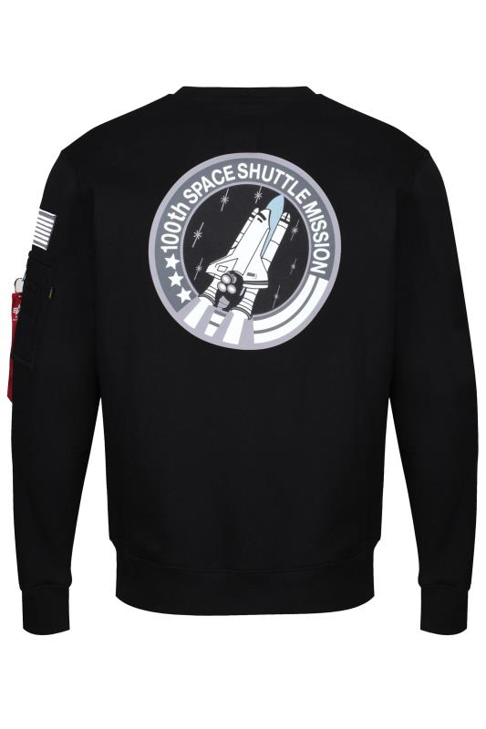 ALPHA INDUSTRIES Black NASA Space Shuttle Sweatshirt_BK.jpg
