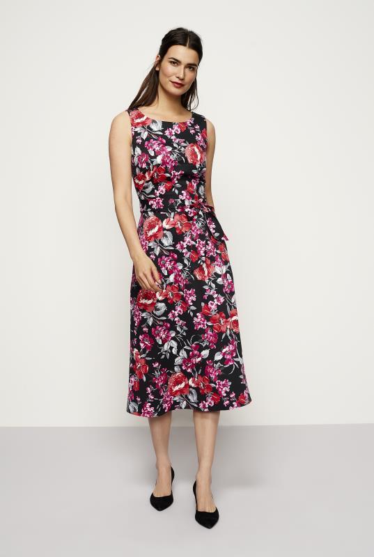 Floral Cotton Sateen Dress