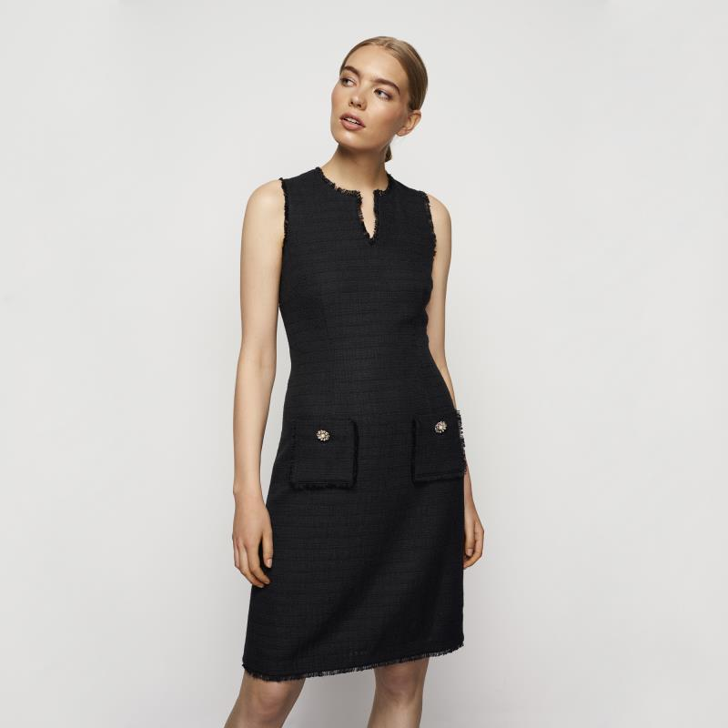 Karl Lagerfeld Paris Tweed Dress