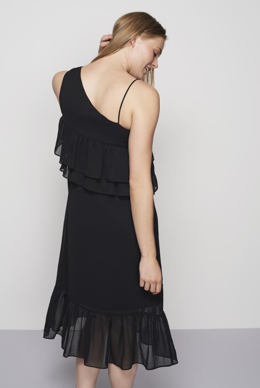 Y.A.S Tall Fricca One Shoulder Frill Dress