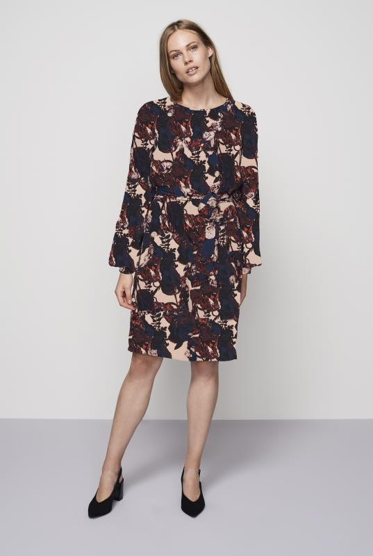 Y.A.S Multi Tall Floral Tulip Dress