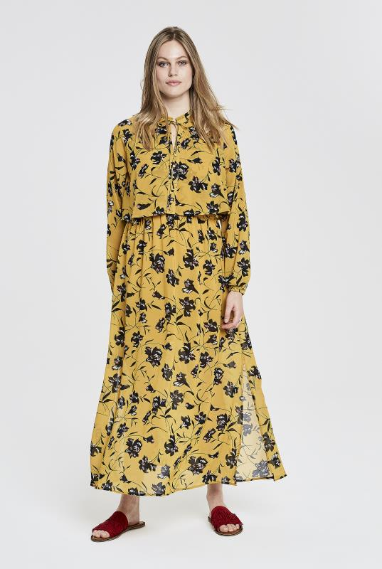 Y.A.S Tall Yellow Glory Maxi Dress