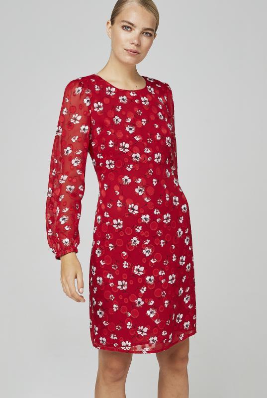 KLP Jacquard Floral Dress