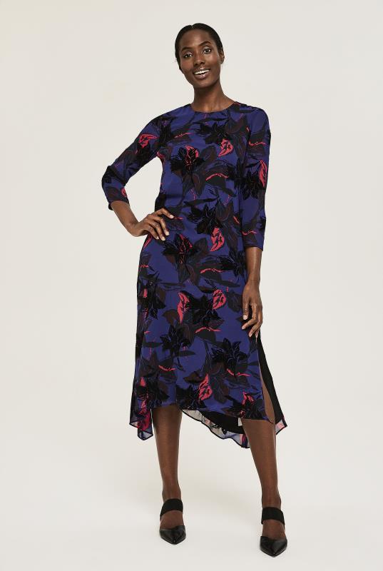Tall Straight Dress Y.A.S Tall Maryllis Midi Dress