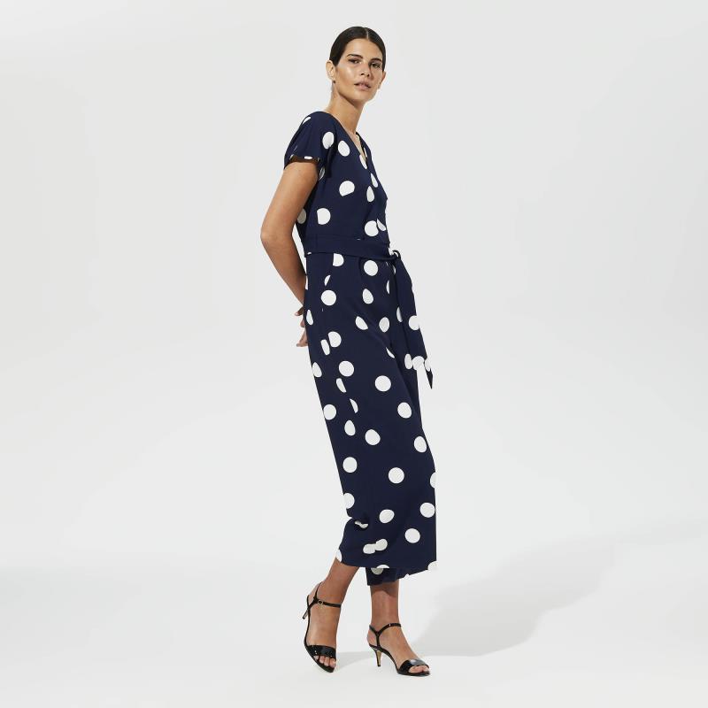 Karl Lagerfeld Paris Dot Jumpsuit