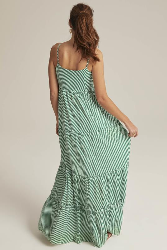 Striped Cotton Day Maxi Dress