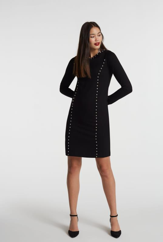 Crystal Ponte Shift Dress
