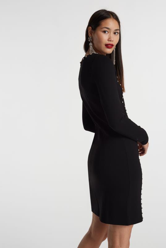 Crystal Ponte Shift Dress