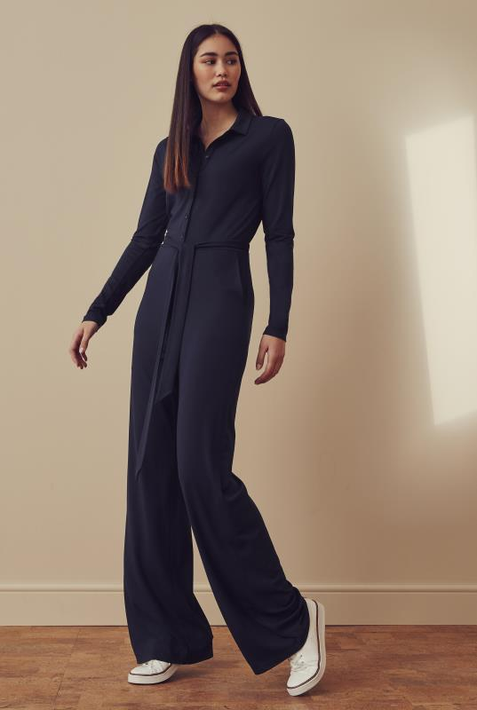 Tall Jumpsuits Jersey Shirt Jumpsuit