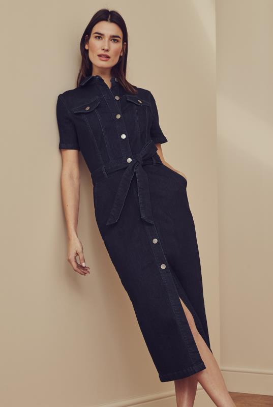 Tall Shirt Dress Denim Dress