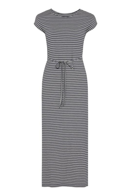 Easy Jersey Stripe Midi Dress