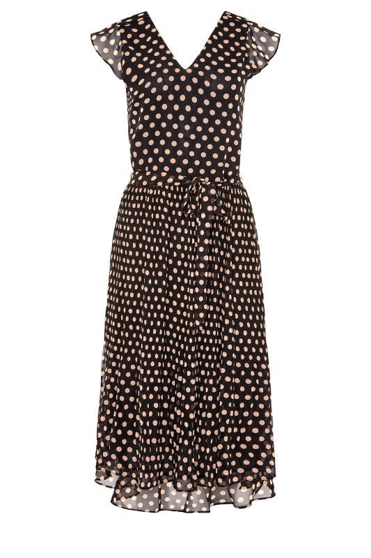 LTS Black Polka Dot Chiffon Dress_F.jpg