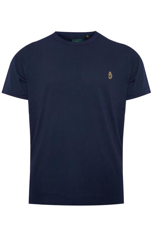 LUKE 1977 - T-shirt van katoen in donkerblauw