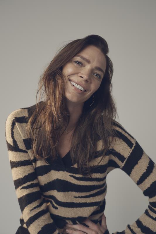 Tall Sweaters & Jumpers Black & Brown Zebra Print Knitted Jumper