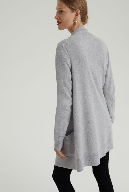 Pure Cashmere Edge to Edge Cardigan