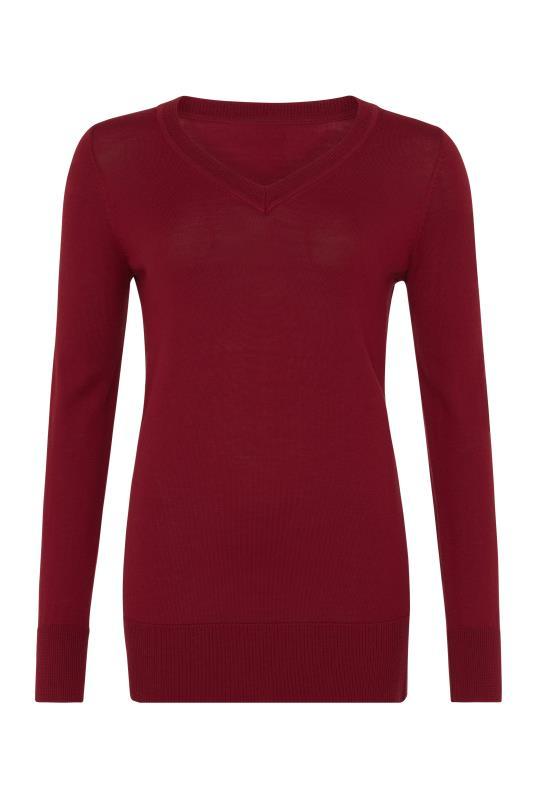 100% Merino V-Neck Sweater